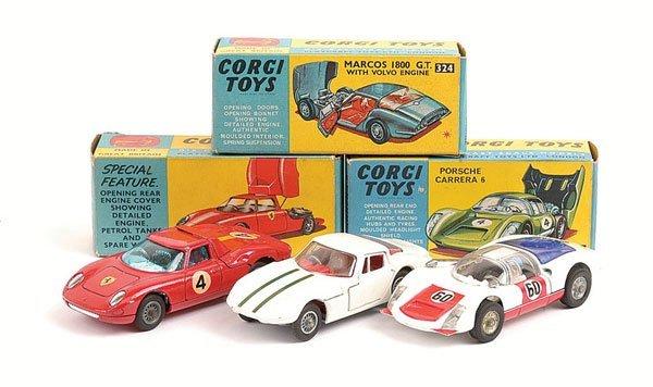 1011: Corgi - No.314 Ferrari Berlinetta 250 & Others