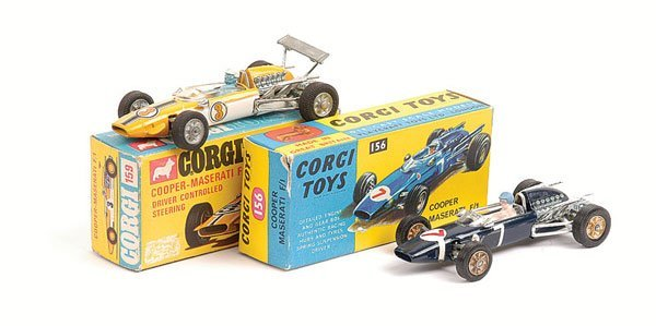 1014: Corgi - A Pair of Cooper Maserati Racing Cars
