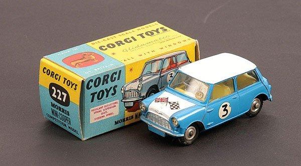 1017: Corgi - No.227 Morris Mini Cooper