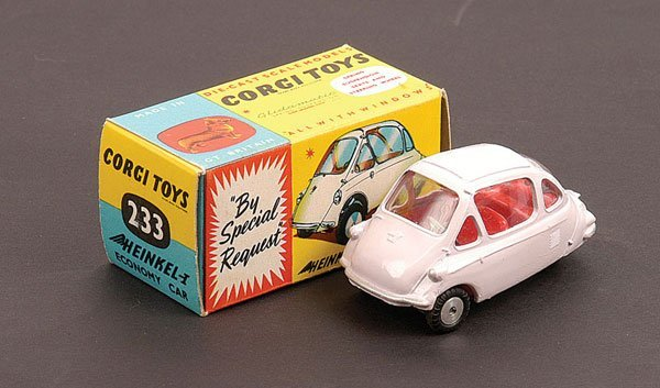 1019: Corgi - No.233 Heinkel Economy Car