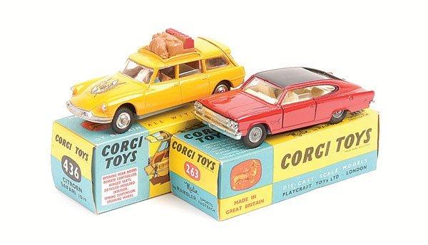1020: Corgi - 436 Citroen Safari & 263 Marlin Rambler