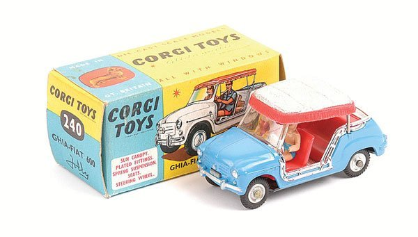 1021: Corgi - No.240 Ghia Fiat 600 Jolly