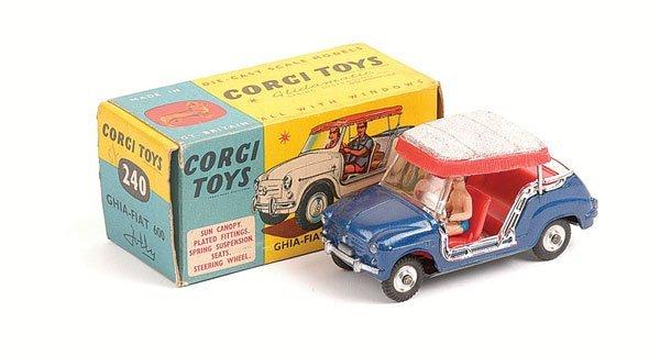 1022: Corgi - No.240 Ghia Fiat 600 Jolly