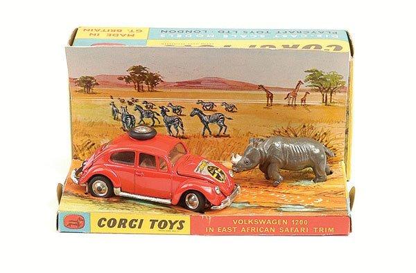 1023: Corgi - No.256 VW1200 East African Safari
