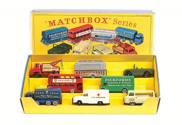 1205: Matchbox G1 Commercial Vehicles Gift Set