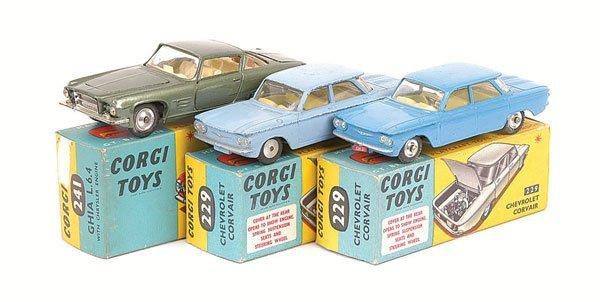 2004: Corgi No.241 Ghia L.6.4  & Others