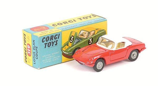 2007: Corgi No.319 Lotus Elan Coupe