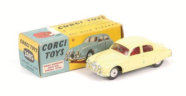 2009: Corgi No.208S Jaguar 2.4 litre Saloon