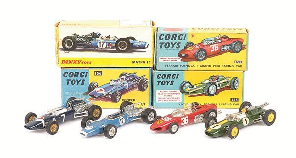 2012: Corgi No.154 Ferrari F1 Racing Car and Others