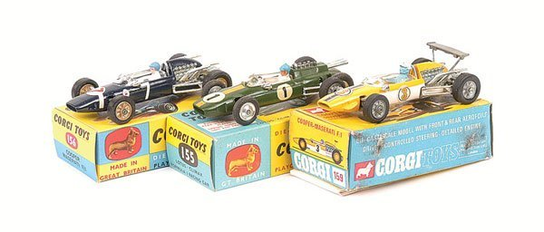 2015: Corgi No.155 Lotus Climax Racing Car and Others