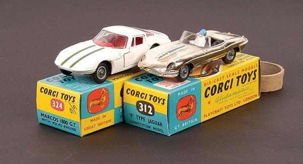 2022: Corgi No.312 Jaguar E-type & Others