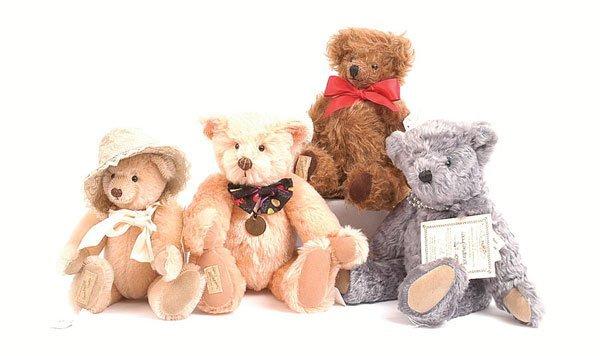 3009: Dean's Rag Book - Four Teddy Bears