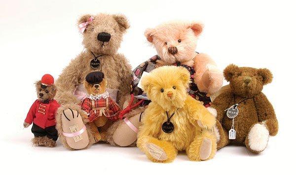 3014: Dean's Rag Book - Six Teddy Bears