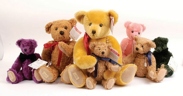 3015: Dean's Rag Book - Seven Teddy Bears