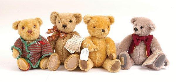 3016: Dean's Rag Book - Four Teddy Bears
