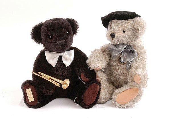 3017: Dean's Rag Book - A Pair of Musical Teddy Bears