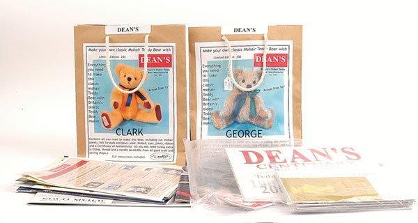 3020: Dean's Rag Book Bear Kits and Literature