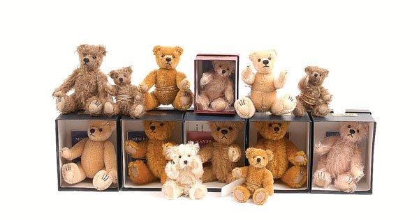 3021: Dean's Rag Book - 13 x Standard Mini Teddy Bears