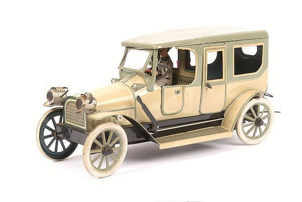 3799: Lehmann or similar Tinplate Clockwork Limousine