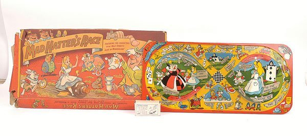 3820: Mettoy Alice in Wonderland Mad Hatter Race Track