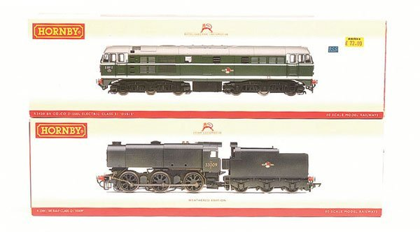 4010: Hornby (China) - A Pair of BR Locos