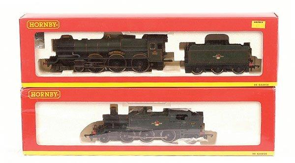 4013: Hornby (China) - 2 x Western Region Steam Locos