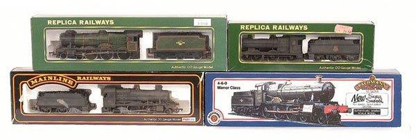 4015: A Group of BR Western Region Steam Locos