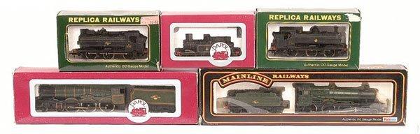4016: OO Gauge - A Group of BR Steam Locos
