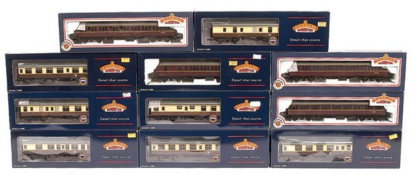 4019: OO Gauge Bachmann - A Group of Rolling Stock