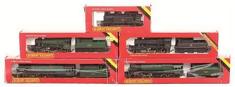 4067: Hornby Railways - A Group of BR Steam Locos