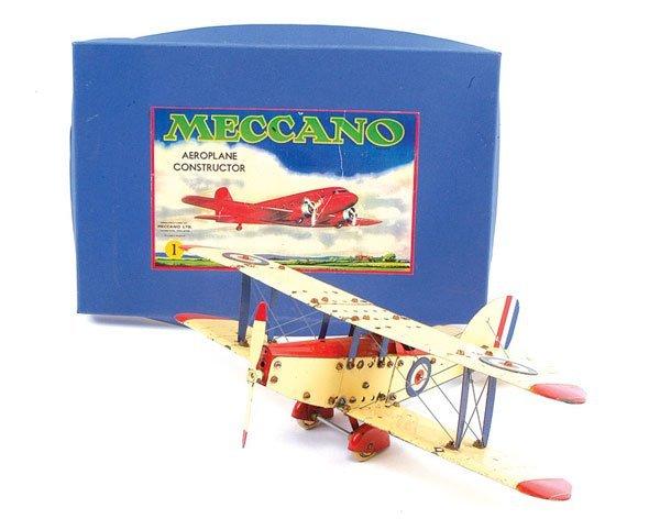 1: Meccano No.1 Constructor Aeroplane