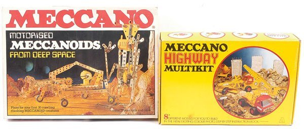 8: Meccano Highway Multikit & Others