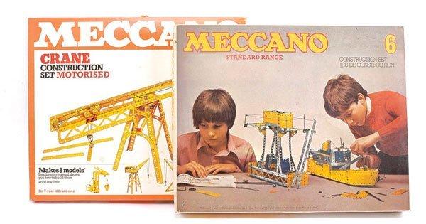 9: Meccano Crane Construction Motorised Set