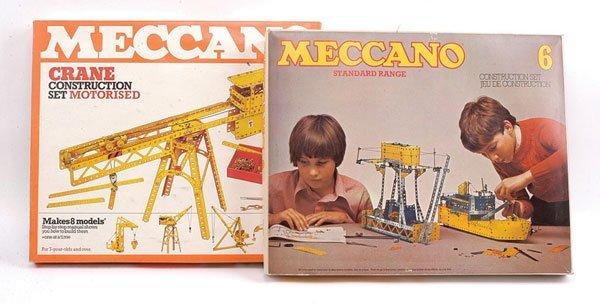 10: Meccano Crane Construction Motorised Set
