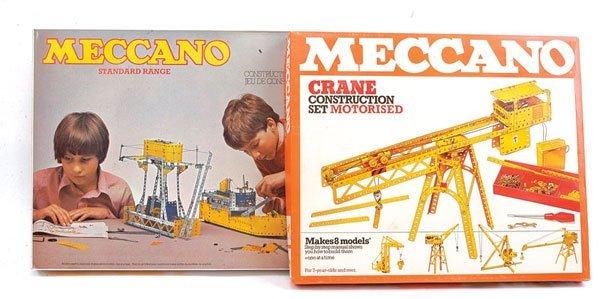 11: Meccano Crane Construction Motorised Set