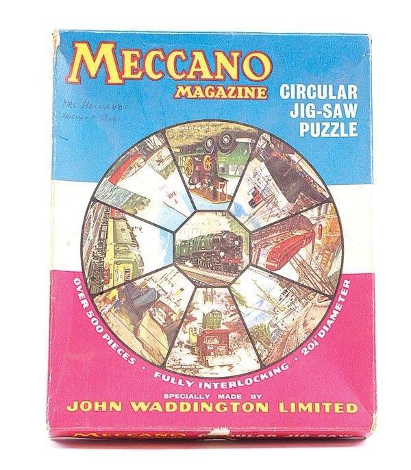 14: Meccano Magazine Circular Jigsaw Puzzle