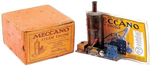16: Meccano Vertical Steam Engine