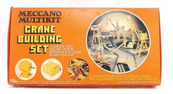 21: Meccano Multikit Crane Building Set