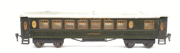 "597: Rare Marklin Gauge 1 Pullman Coach ""JEFFERSON"""