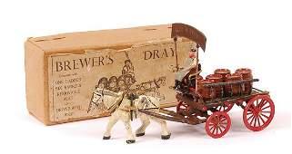 1332 Taylor  Barrett Horsedrawn Brewers Dray