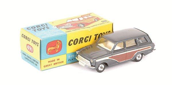 2004: Corgi 491 Ford Consul Cortina Super Estate Car