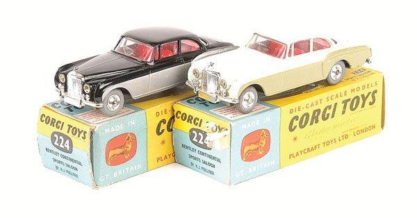 2008: Corgi No.224 Bentley Continental Sports Saloon