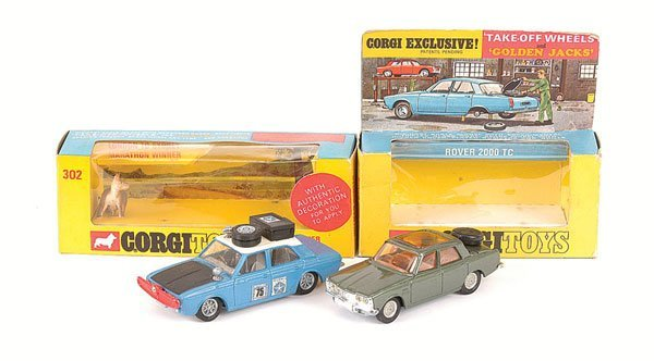 2014: Corgi - No.275 Rover 2000TC