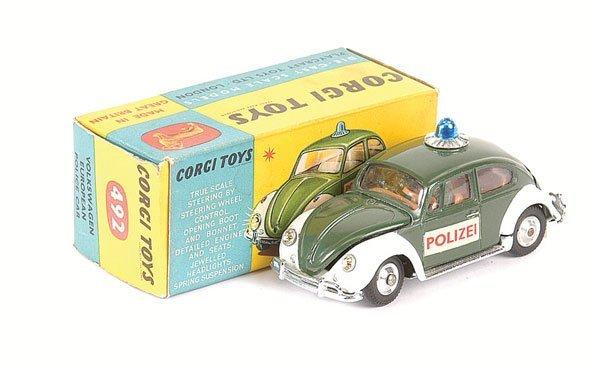 """2018: Corgi - No.492 VW European Police Car """"Polizei"""""""