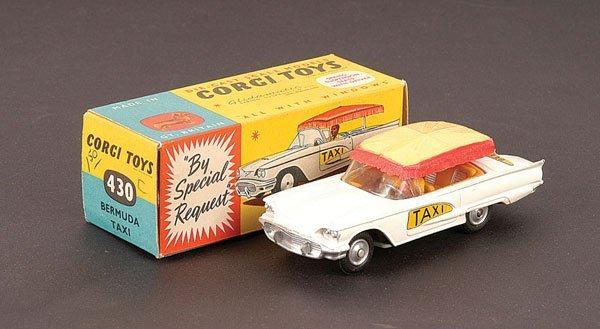 """2022: Corgi - No.430 Ford Thunderbird """"Bermuda Taxi"""""""