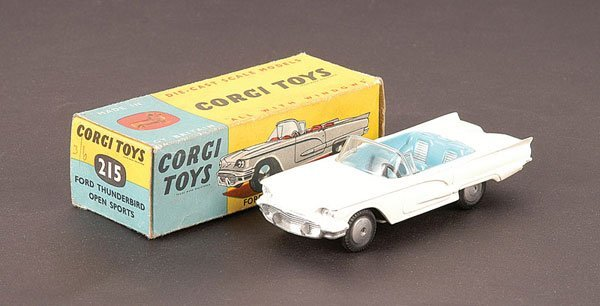 2023: Corgi - No.215 Ford Thunderbird Open Sports Car