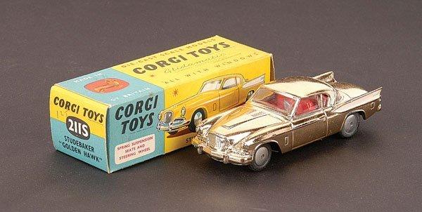 "2024: Corgi - No.211S Studebaker ""Golden Hawk"""