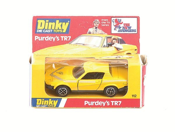 2068: Dinky 112 The New Avengers Purdey's Triumph TR7