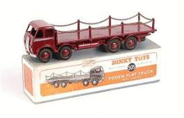 2092: Dinky No.505 Foden Flat Truck with Chains