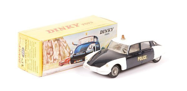 2599: French Dinky - No.501 Citroen DS19 Police Car